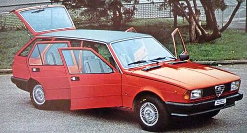 Alfa Romeo, le giardinette che non avete mai visto Giulie11