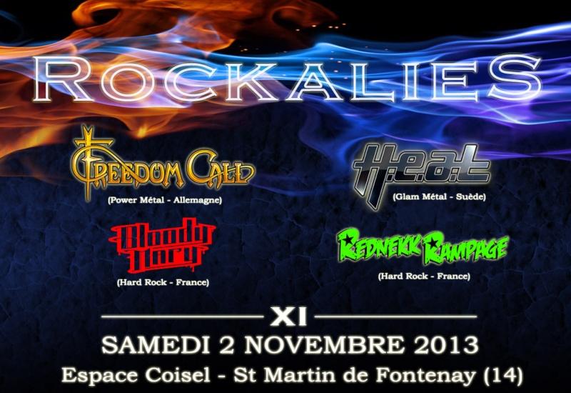 Rockalies 2013: Freedom Call, H.e.a.t, ... en Normandie Accuei10