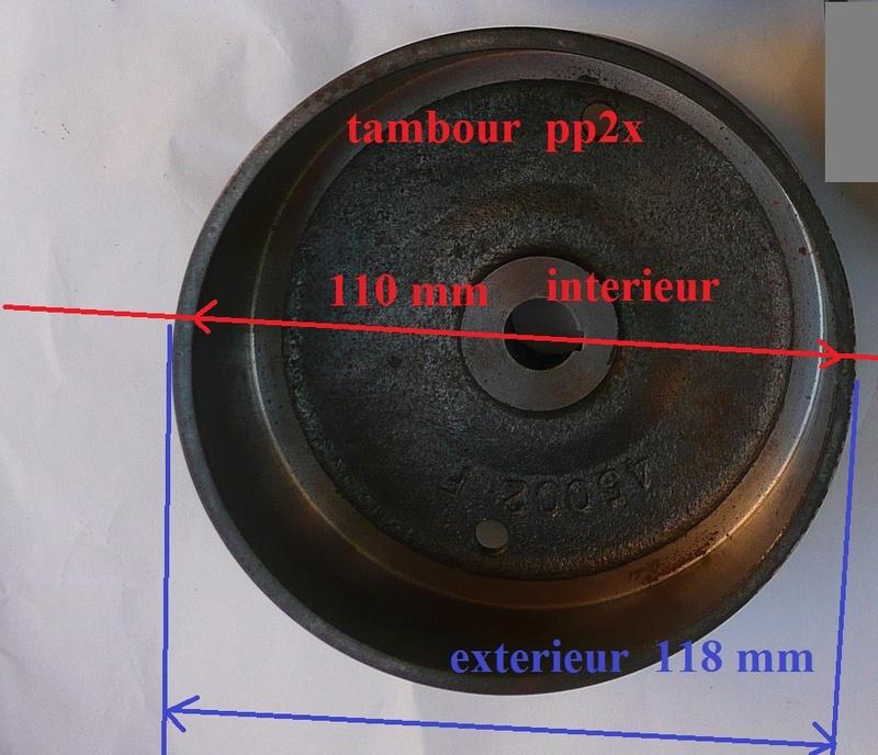 Cloche d'embrayage et embrayage Staub PPX P1260822