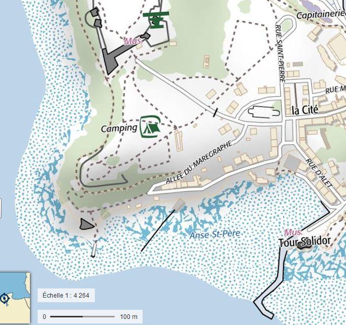 Marégraphe du port de Saint-Servan St_ser10
