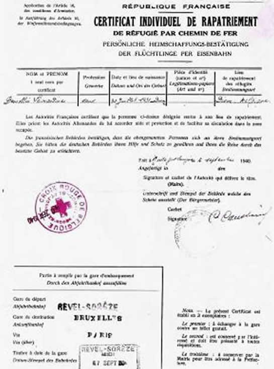 LA VIE DES CIVILS DURANT LA SECONDE GUERRE MONDIALE 10194010