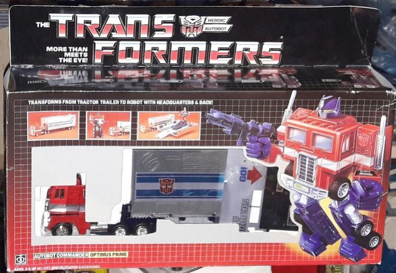 TRANSFORMERS G1 (Génération 1) : toute la gamme Arriv018