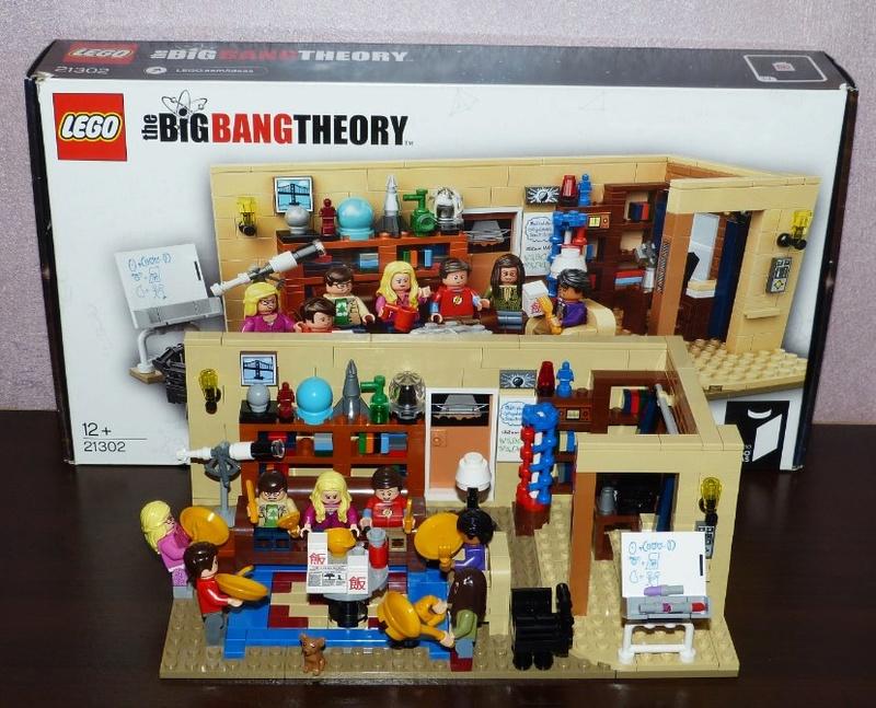 [LEGO] The Big Bang Theory Legobb10