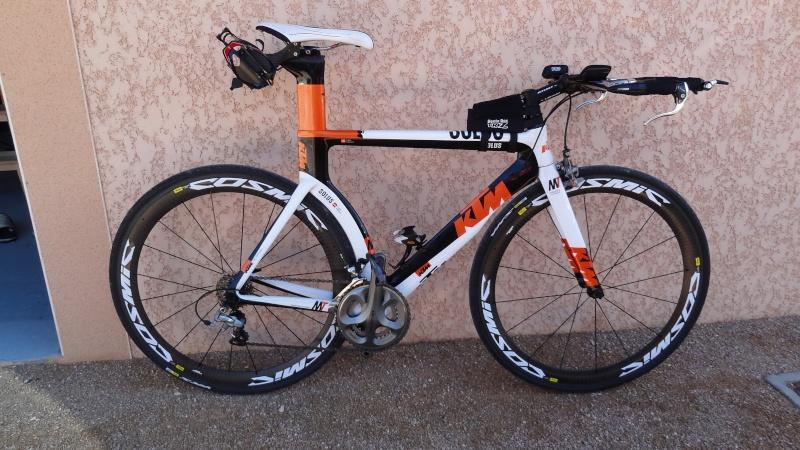 Cadre Triathlon KTM Solus Master pédalier Ultegra à vendre Dsc02510