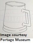 Crown Lynn Philippines tankard looks like 1326 rugby beer mug PHOTO OF BASE ADDED 1326_r10