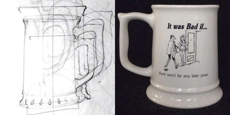 New shape: castware tankard 1483 1483fm10
