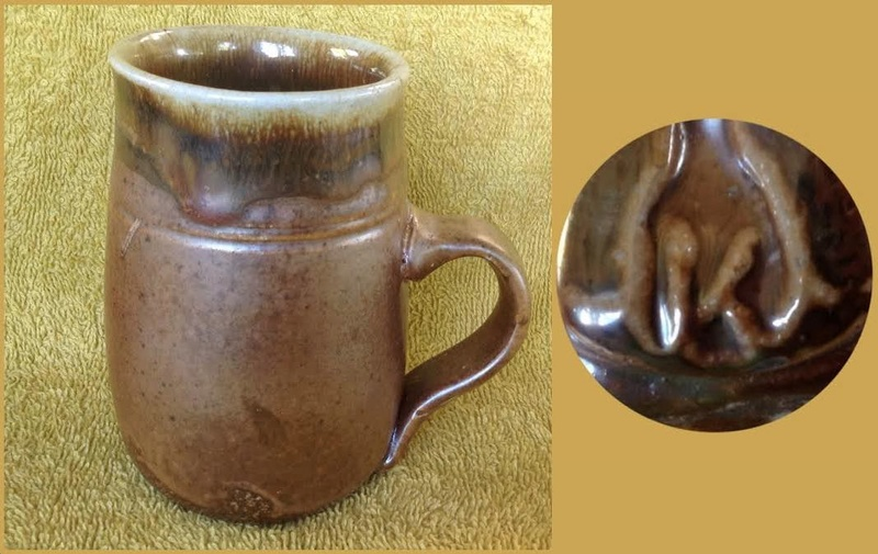 Some new mugs from ASP Big Clay Out with some potters' marks for GALLERY Aspkt10