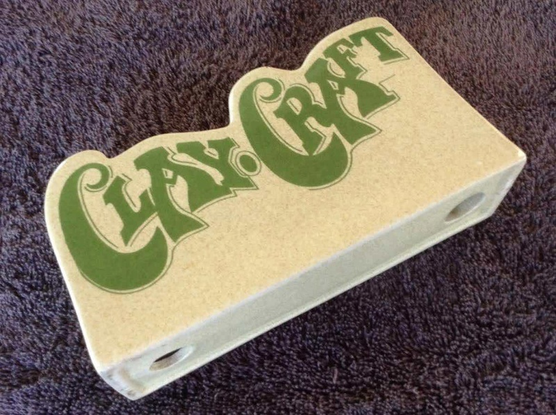 """Clay Craft"" display sign Claycr11"