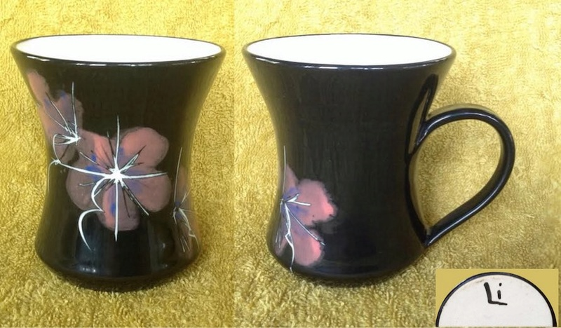 6 market mugs, including face mugs, and 2 others PLUS one more added Li10
