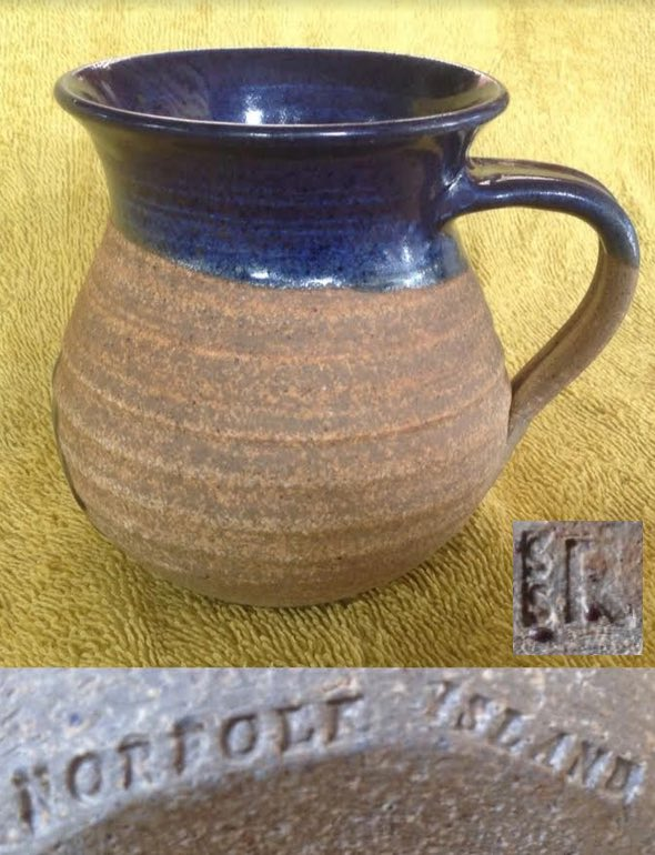 Cottage Pottery Norfolk Island Steve Ryves Ni110