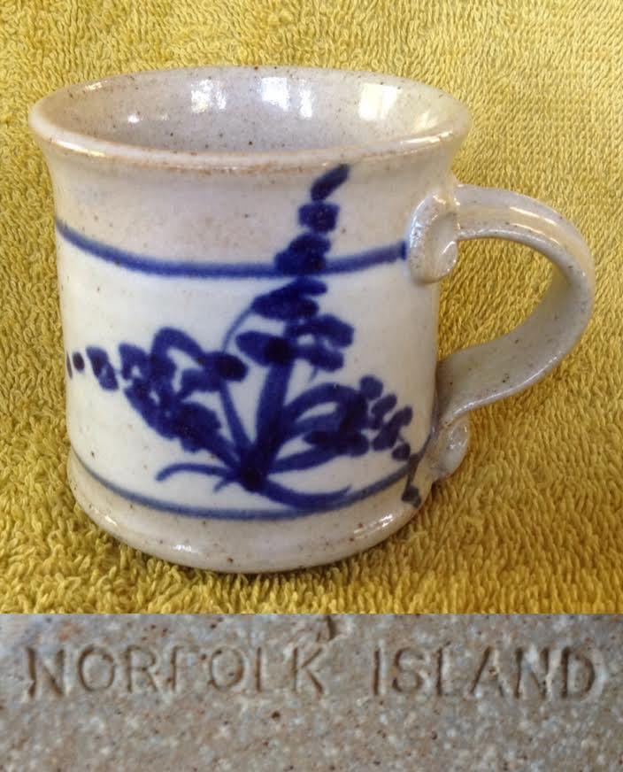 Cottage Pottery Norfolk Island Steve Ryves Ni210