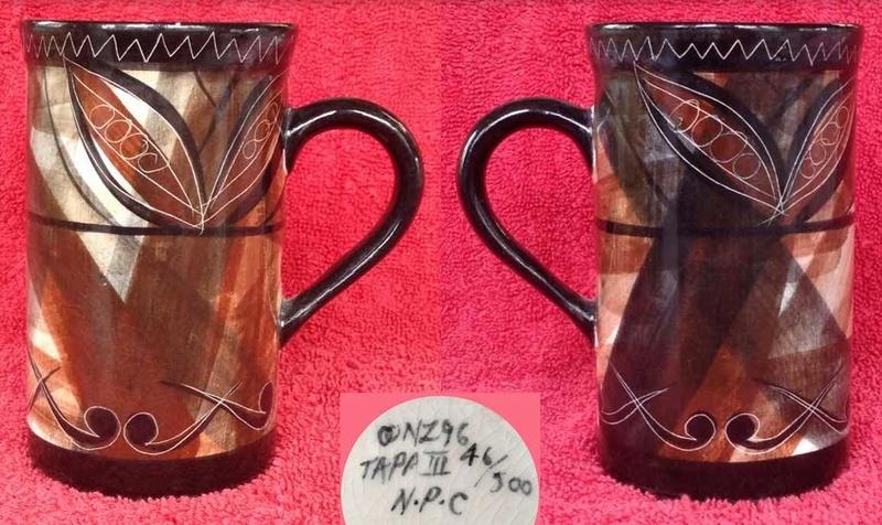 Stepahead Ceramics, Tapa lll, OO, N.P.C. Studio Ceramics Tapall10
