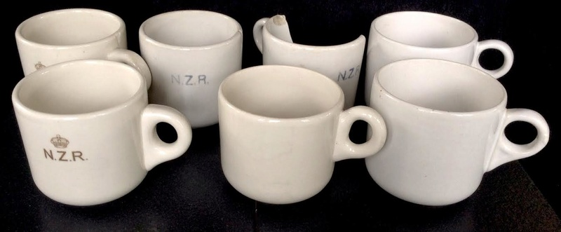Old Temuka vitrified cups, including NZR railway cups: new shape(s) and backstamp(s) for the GALLERY Temuka10