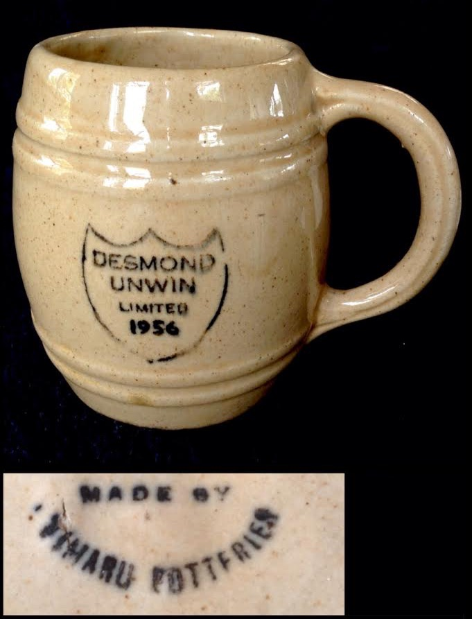 mugs - Stour Ware and Timaru Potteries mugs and marks Timaru10