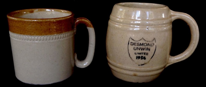 Stour Ware and Timaru Potteries mugs and marks Timaru11