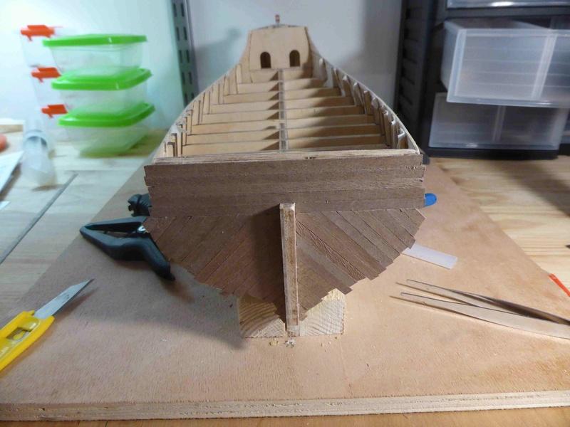 Construction du Santa Maria au 1/65 d'AMATI - Page 3 P1010417