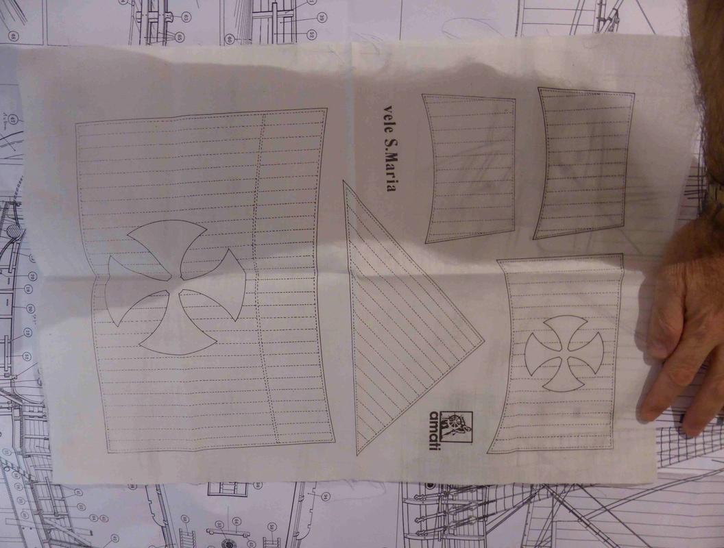 Construction du Santa Maria au 1/65 d'AMATI - Page 5 P1010425