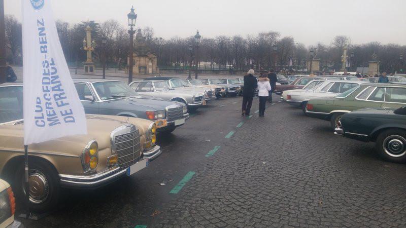 17ème traversée de Paris en anciennes 20170110