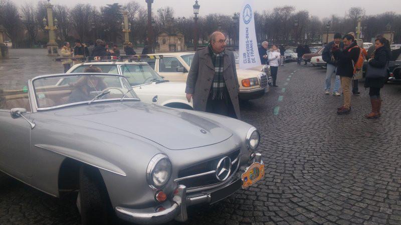 17ème traversée de Paris en anciennes 20170111