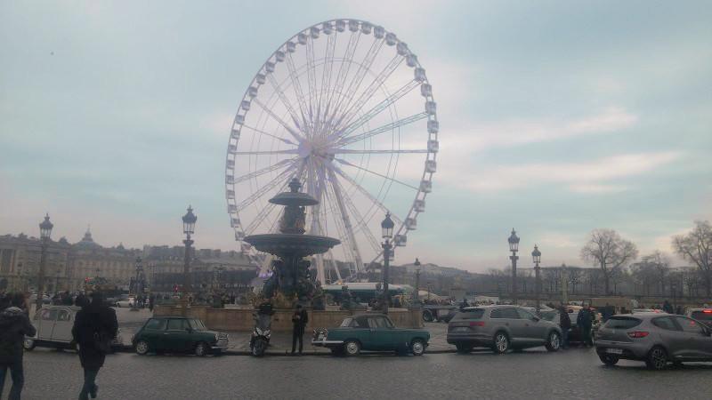 17ème traversée de Paris en anciennes 20170116