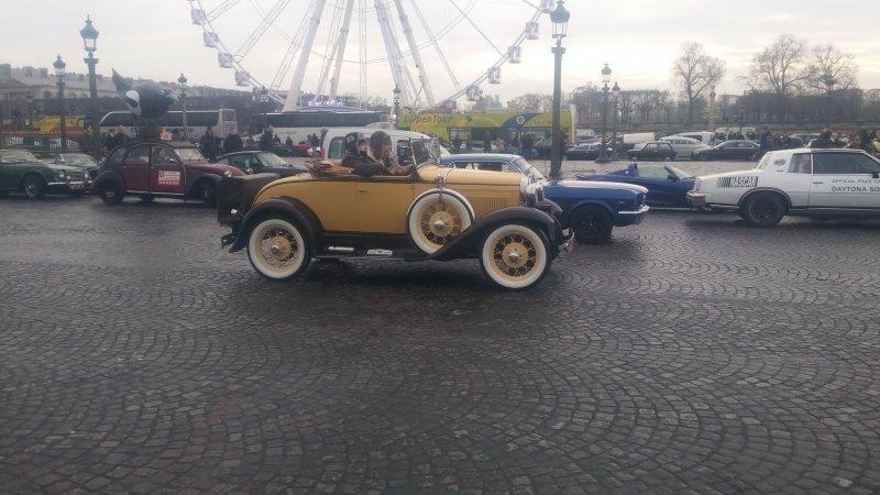 17ème traversée de Paris en anciennes 20170126