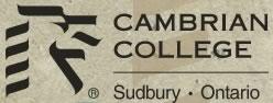 Cambrian College, Sudbury Ontario  Master10