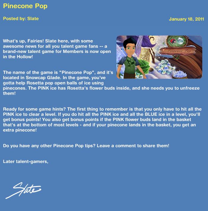 Pinecone Pop Pineco11