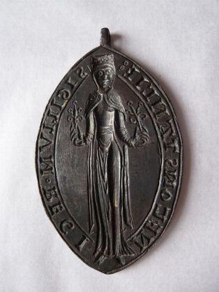 Le sceau de Constance de Castille  P1010510