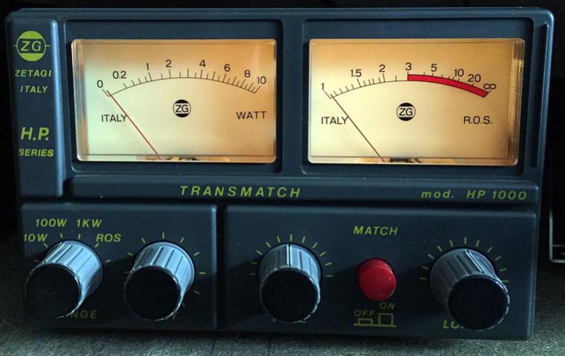 Zetagi HP-1000 (Tosmetre wattmetre matcher) - Page 2 Zetagi12