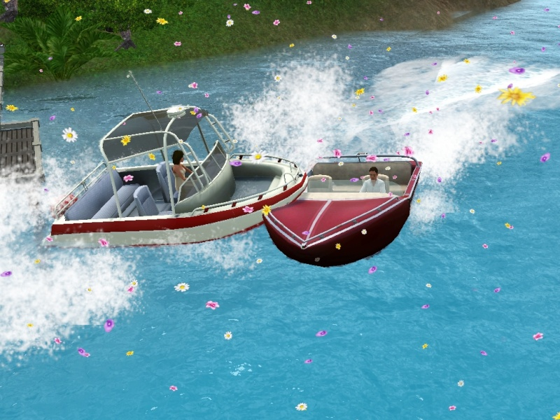 Sims who should be barred from boating. Eeeek! Scree100