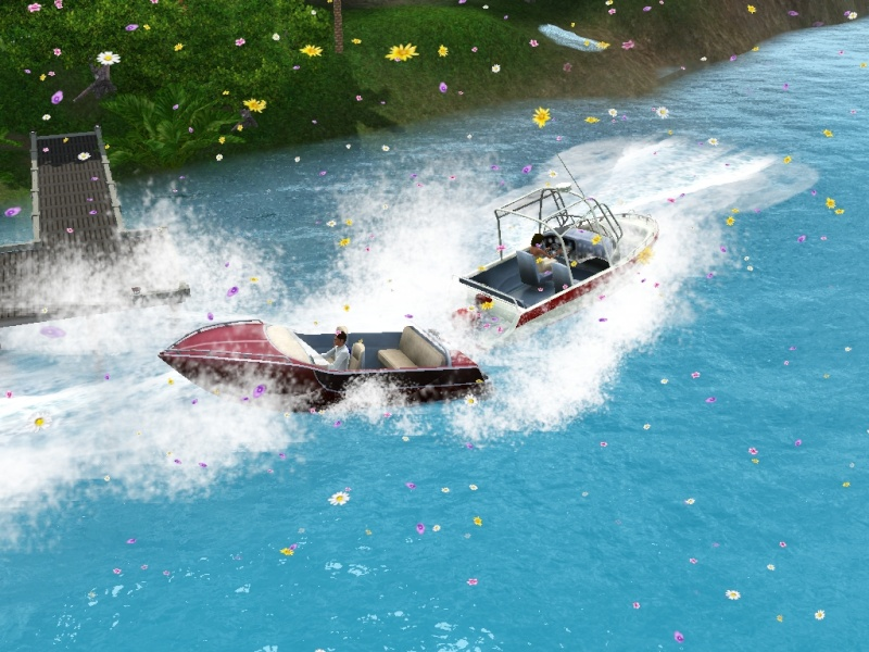 Sims who should be barred from boating. Eeeek! Scree101