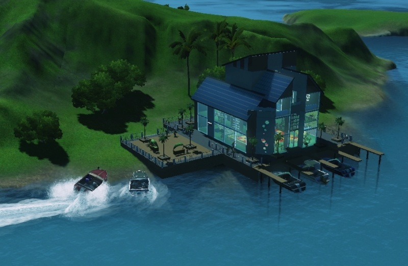 Sims who should be barred from boating. Eeeek! Scree102