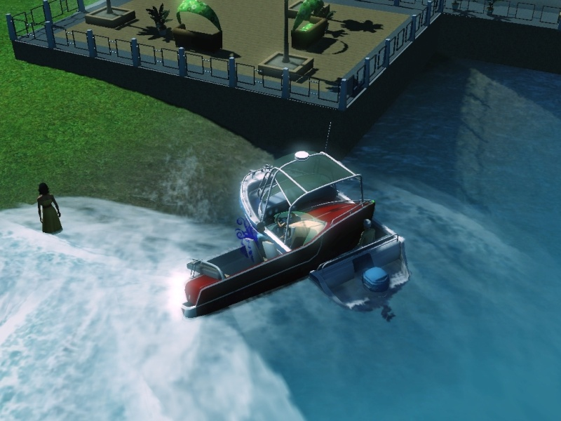 Sims who should be barred from boating. Eeeek! Scree103
