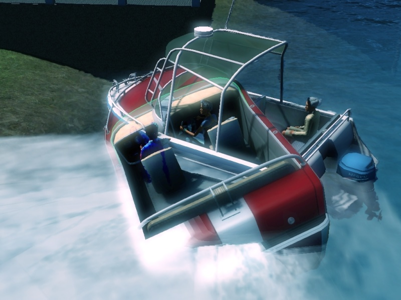Sims who should be barred from boating. Eeeek! Scree106