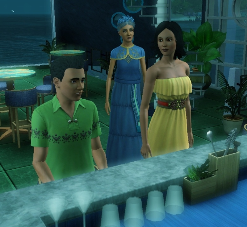 Sims who should be barred from boating. Eeeek! Scree107