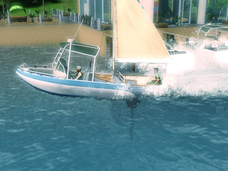 Sims who should be barred from boating. Eeeek! Scree111