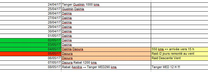 Maroc 2017 - Page 2 Timing11