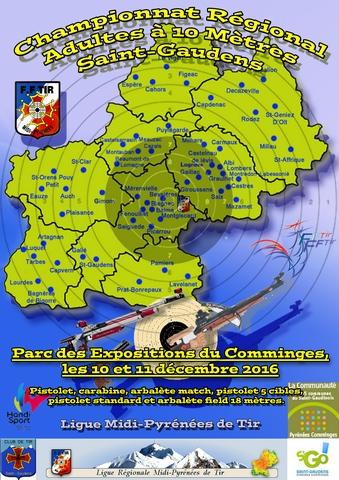 Championnat Régional 10 mètres Midi-Pyrénées Affich11