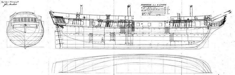 HMS Surprise d'AL au 1/48e Padsur11