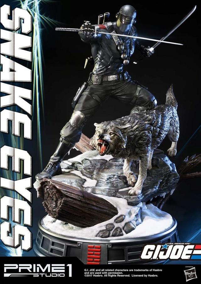 G.I. Joe 1/4 Scale Snake Eyes Statue par Prime 1 Studio Snake_10