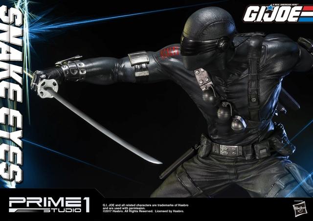 G.I. Joe 1/4 Scale Snake Eyes Statue par Prime 1 Studio Snake_11