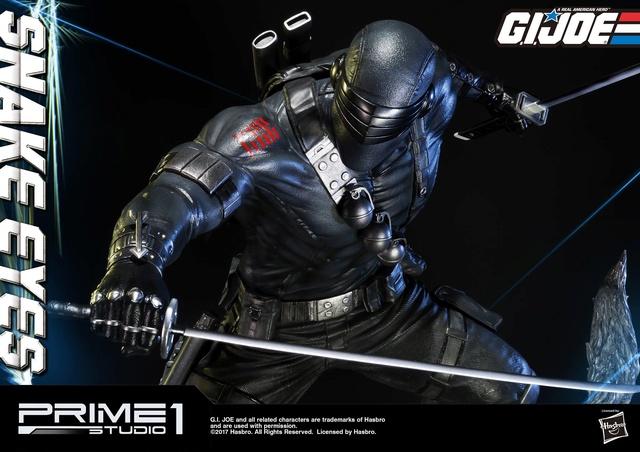 G.I. Joe 1/4 Scale Snake Eyes Statue par Prime 1 Studio Snake_12