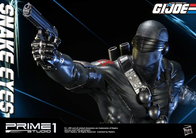 G.I. Joe 1/4 Scale Snake Eyes Statue par Prime 1 Studio Snake_13