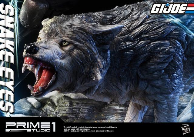 G.I. Joe 1/4 Scale Snake Eyes Statue par Prime 1 Studio Snake_14