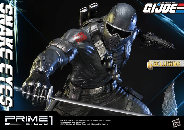 G.I. Joe 1/4 Scale Snake Eyes Statue par Prime 1 Studio Snake_17
