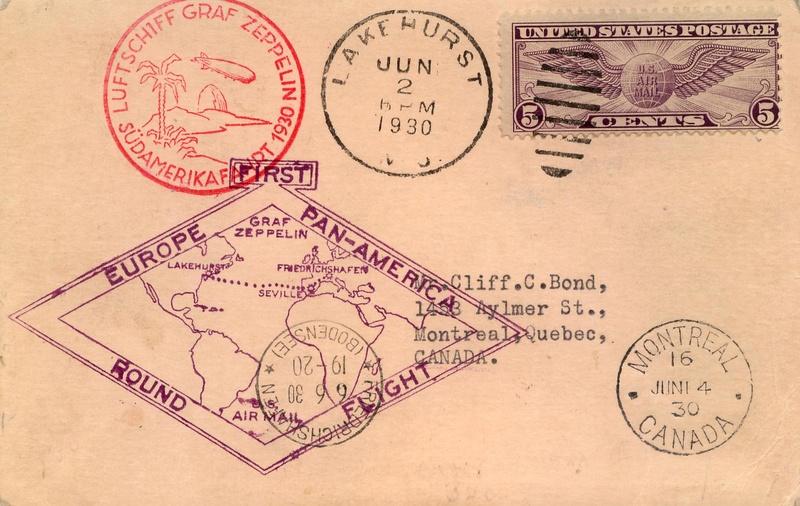 """nach - Südamerikafahrt 1930 (Rundfahrt-) Post nach Friedrichshafen"""" - Seite 7 64_k_511"""