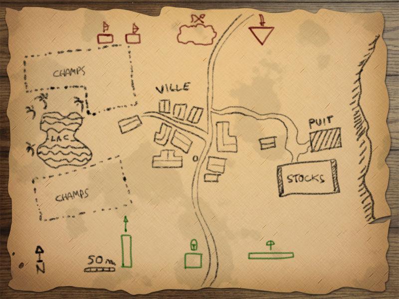 Escarmouche d'Aigues-Noires Map10