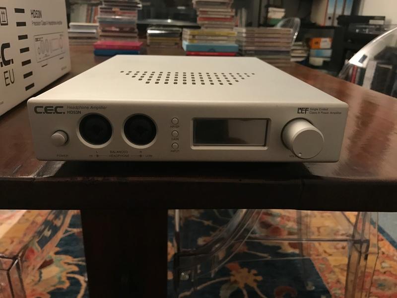 (GE) Vendo ampli cuffie CEC HD53N Img_0211
