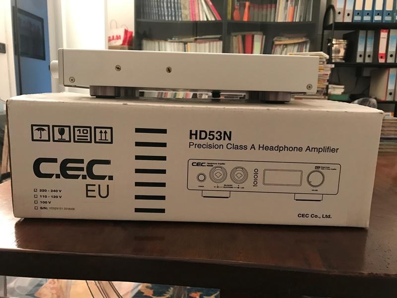 (GE) Vendo ampli cuffie CEC HD53N Img_0213