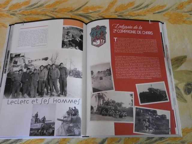 Theme de collection le  501 Regiment de char de combat  - Page 2 Livre156